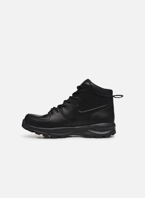 Stivaletti e tronchetti Nike Manoa leather Nero immagine frontale