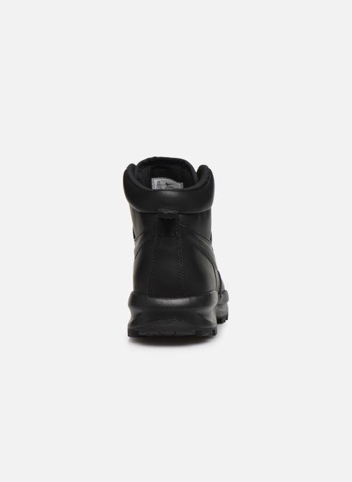 Botines  Nike Manoa leather Negro vista lateral derecha