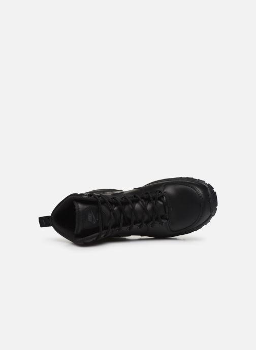Stivaletti e tronchetti Nike Manoa leather Nero immagine sinistra
