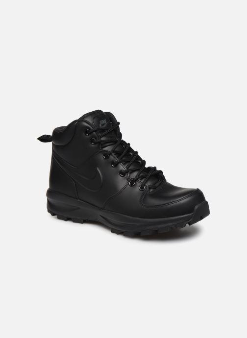 Bottines et boots Nike Manoa leather Noir vue détail/paire