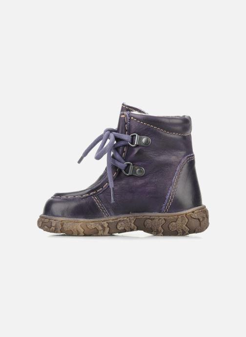 Stiefeletten & Boots Bisgaard Loona lila ansicht von vorne