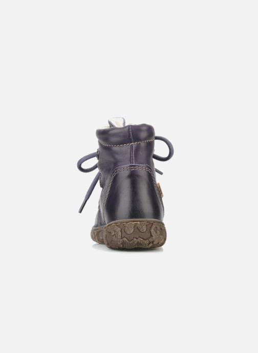 Stiefeletten & Boots Bisgaard Loona lila ansicht von rechts
