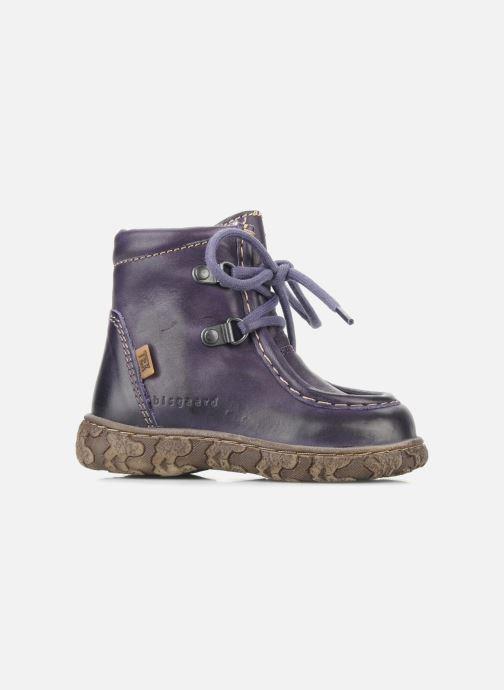 Stiefeletten & Boots Bisgaard Loona lila ansicht von hinten