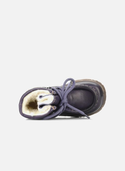 Botines  Bisgaard Loona Violeta      vista lateral izquierda