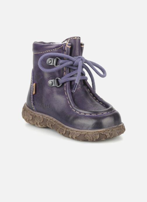 Ankelstøvler Bisgaard Loona Lilla detaljeret billede af skoene