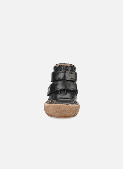 Velcro shoes Bisgaard Gapaos Black model view