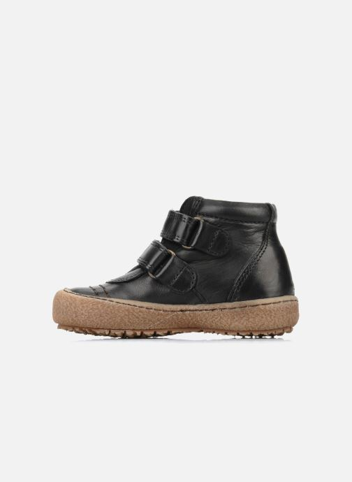Zapatos con velcro Bisgaard Gapaos Negro vista de frente
