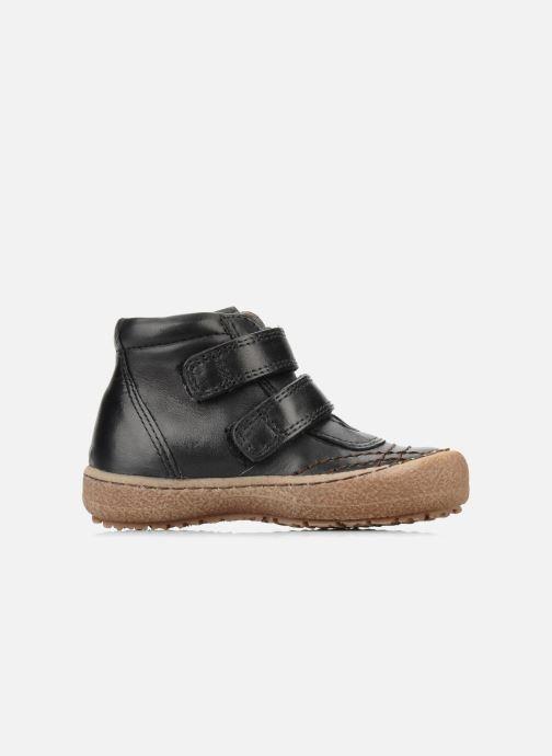 Zapatos con velcro Bisgaard Gapaos Negro vistra trasera