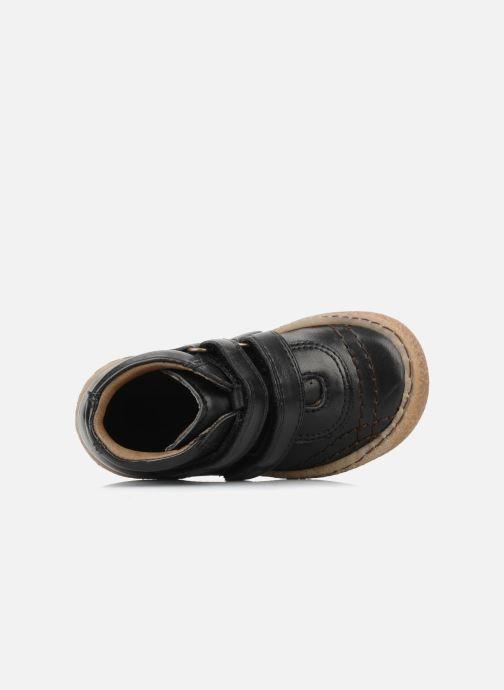 Zapatos con velcro Bisgaard Gapaos Negro vista lateral izquierda