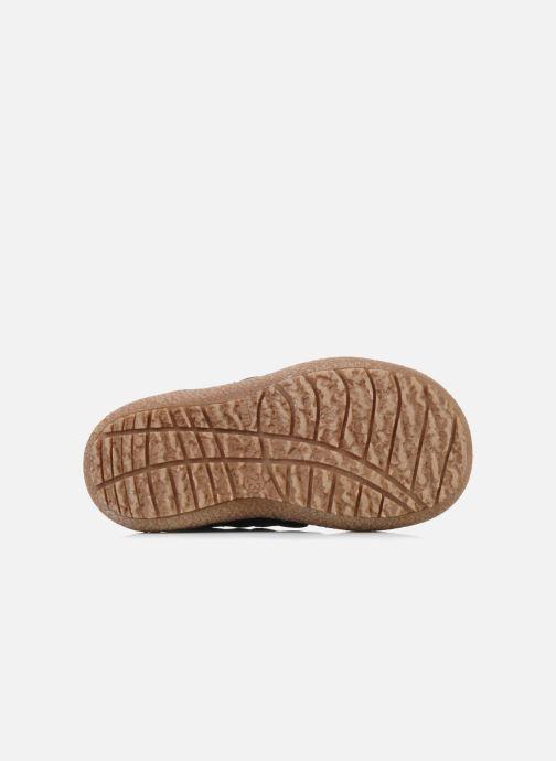 Chaussures à scratch Bisgaard Gapaos Noir vue haut