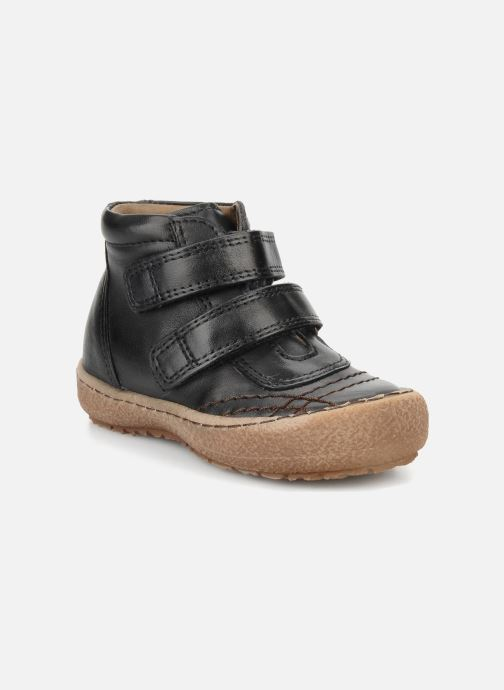 Zapatos con velcro Bisgaard Gapaos Negro vista de detalle / par