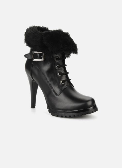 Ankle boots Eden Micho Black detailed view/ Pair view