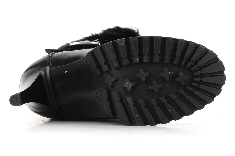 Bottines et boots Eden Micho Noir vue haut