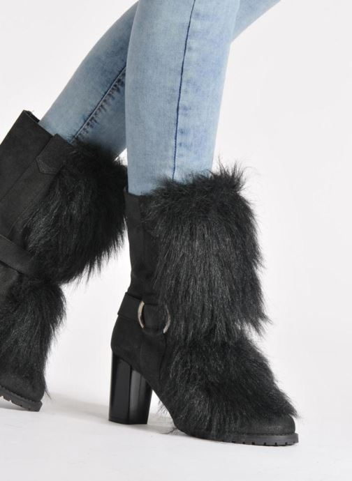 Ankle boots Eden Zon Black view from underneath / model view