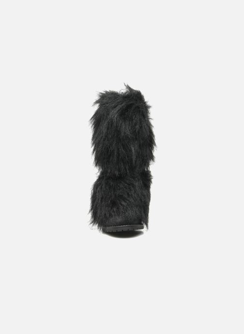 Bottines et boots Eden Zon Noir vue portées chaussures