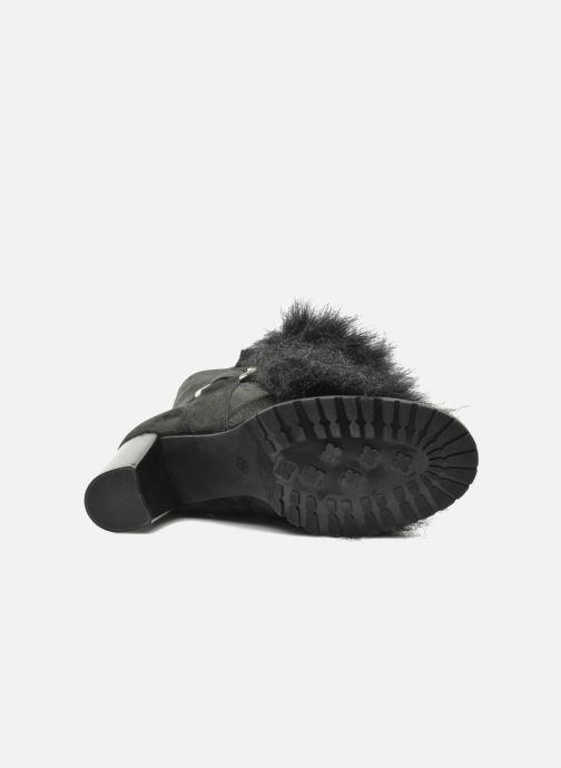 Bottines et boots Eden Zon Noir vue haut