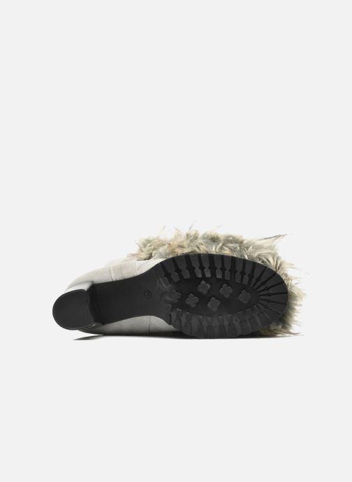 Bottines et boots Eden Zon Gris vue haut