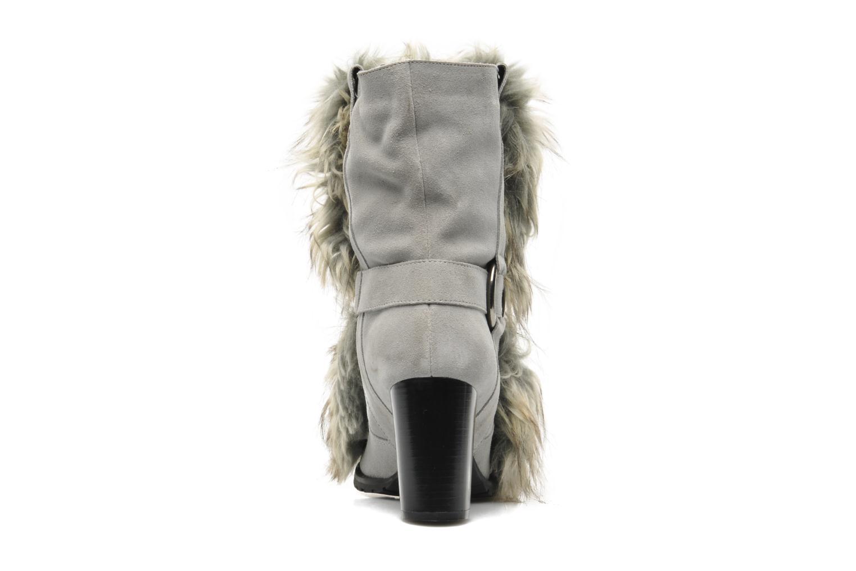 Bottines et boots Eden Zon Gris vue droite