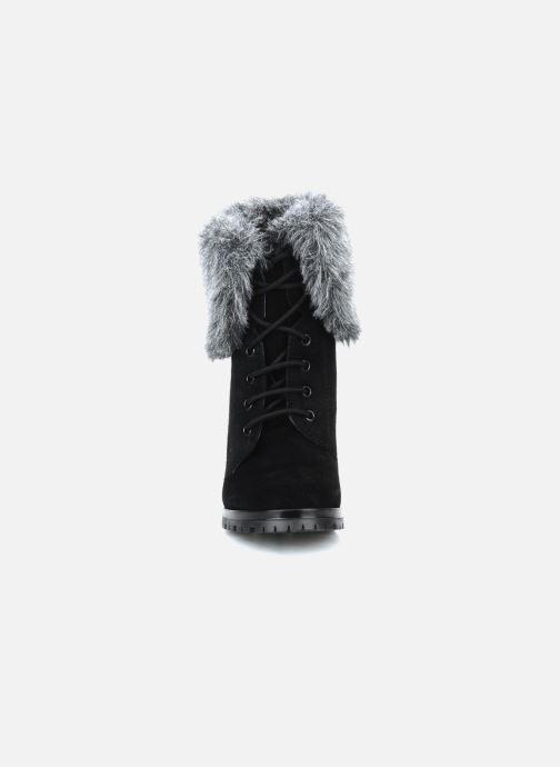 Bottines et boots Eden Cincilla Noir vue portées chaussures