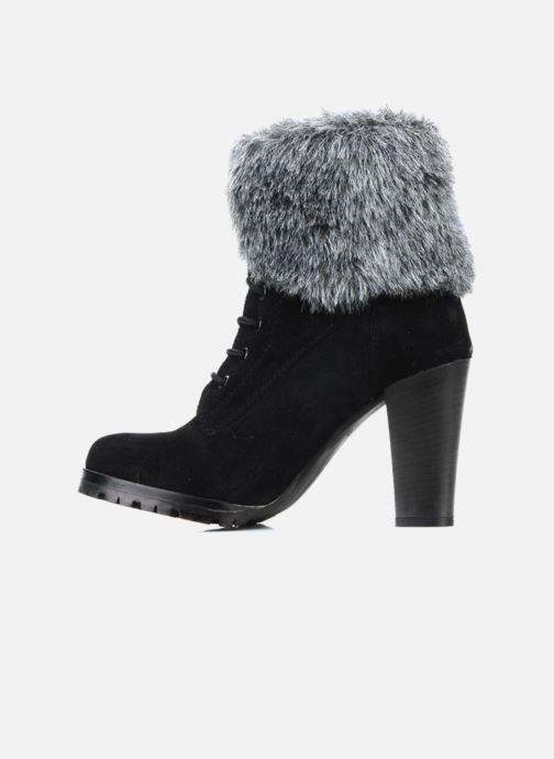 Bottines et boots Eden Cincilla Noir vue face