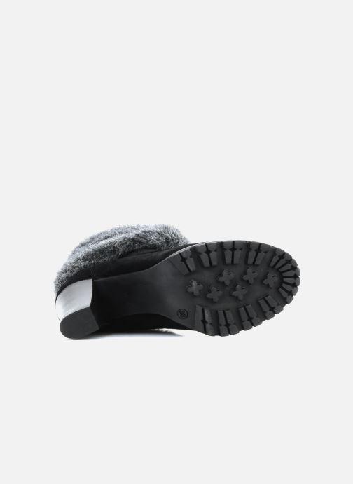 Bottines et boots Eden Cincilla Noir vue haut