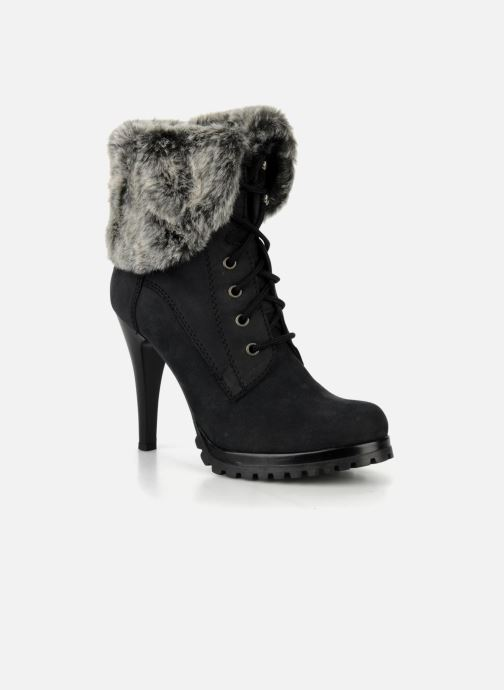 Ankle boots Eden Shisho Black detailed view/ Pair view