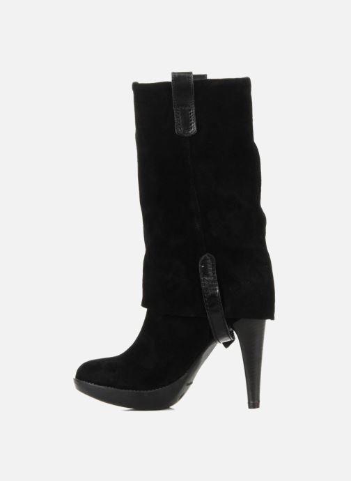 Ankle boots Eden Carla Black front view