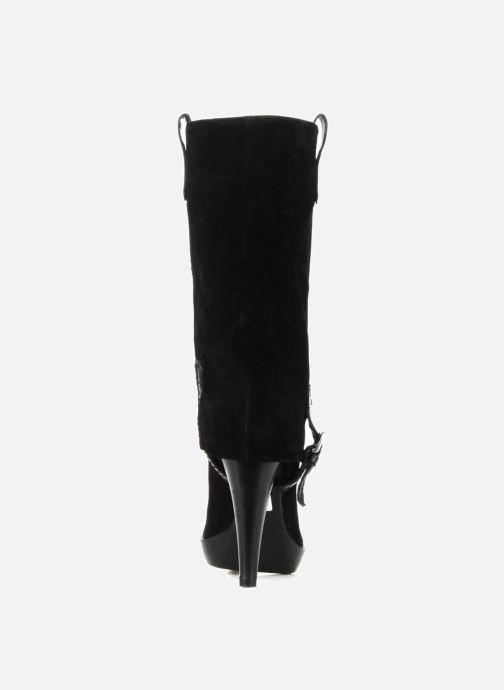 Bottines et boots Eden Carla Noir vue droite