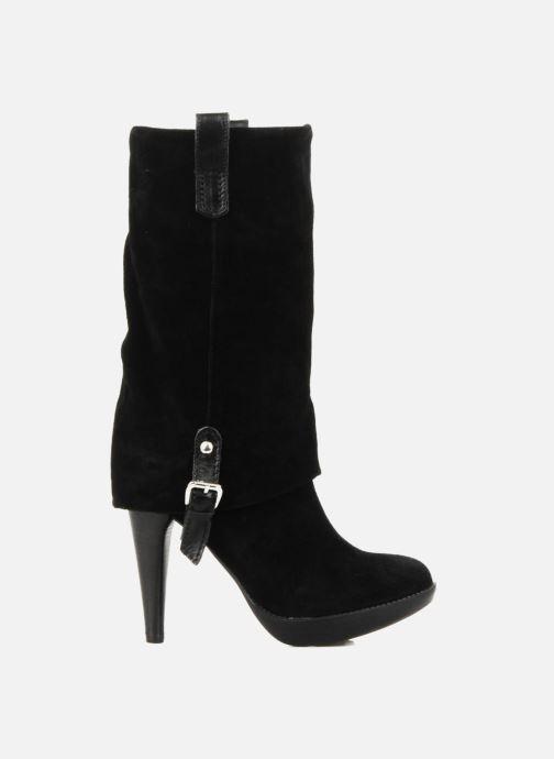 Bottines et boots Eden Carla Noir vue derrière