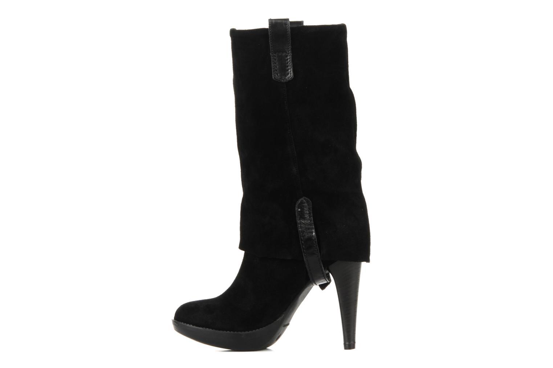 Bottines et boots Eden Carla Noir vue face
