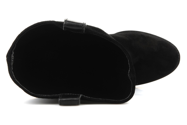 Bottines et boots Eden Carla Noir vue gauche