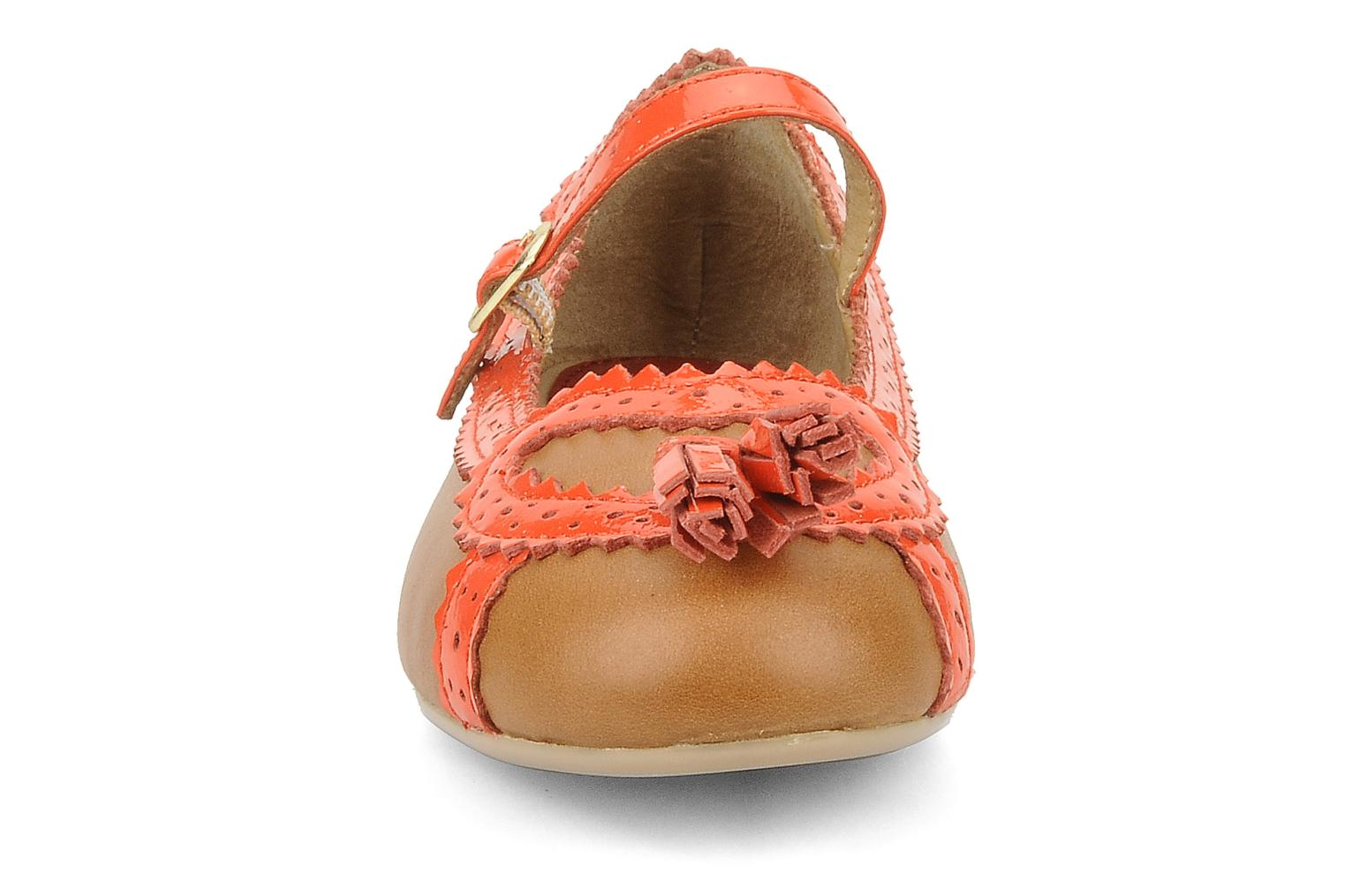 Ballerines Mellow Yellow Mini keyland Marron vue portées chaussures