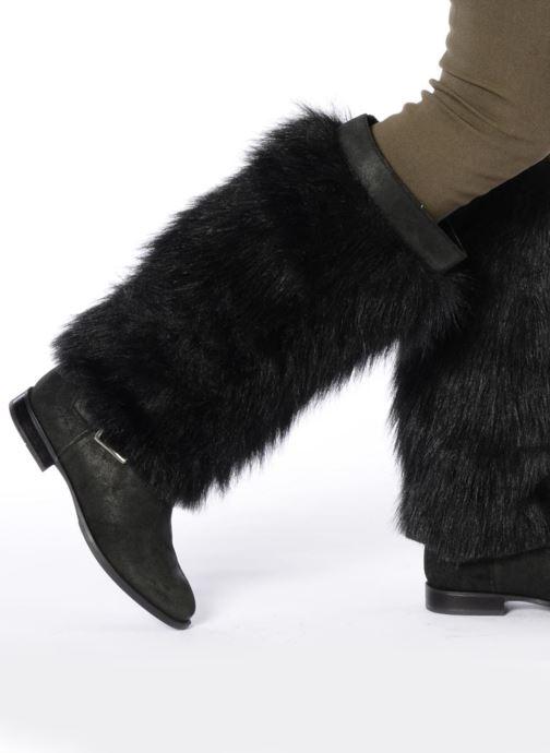 Stiefel Eden Choups schwarz ansicht von unten / tasche getragen