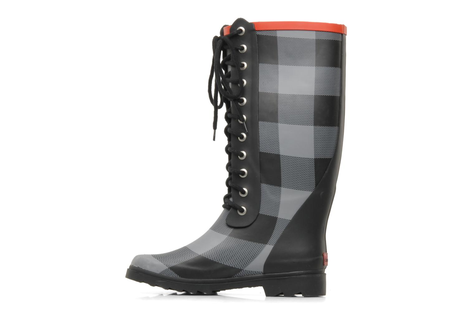 Boots & wellies Chooka Lace up buffalo Black front view