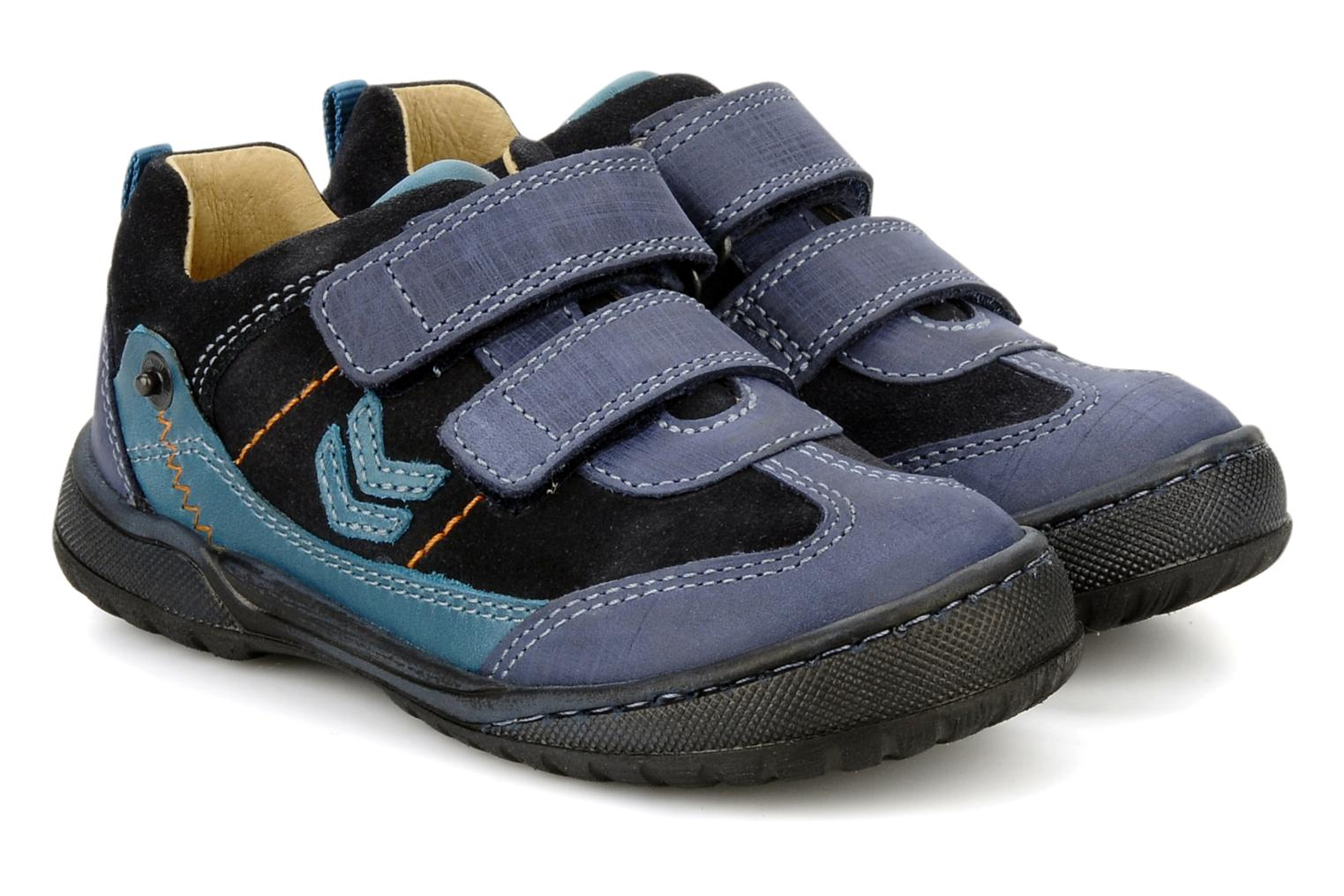 Zapatos con velcro Start Rite Trail Azul vista 3/4