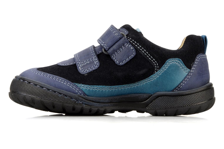 Chaussures à scratch Start Rite Trail Bleu vue face
