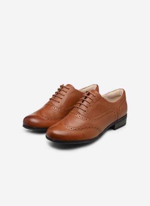 Snörade skor Clarks Hamble Oak Brun bild från under