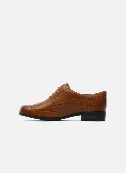 Snörade skor Clarks Hamble Oak Brun bild från framsidan