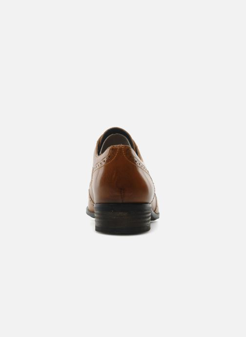 Lace-up shoes Clarks Hamble oak Brown view from the right