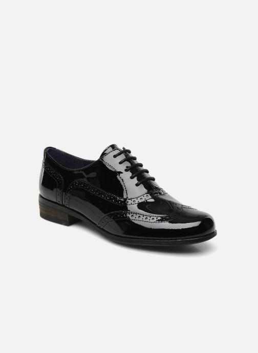 Zapatos con cordones Clarks Hamble Oak Negro vista de detalle / par