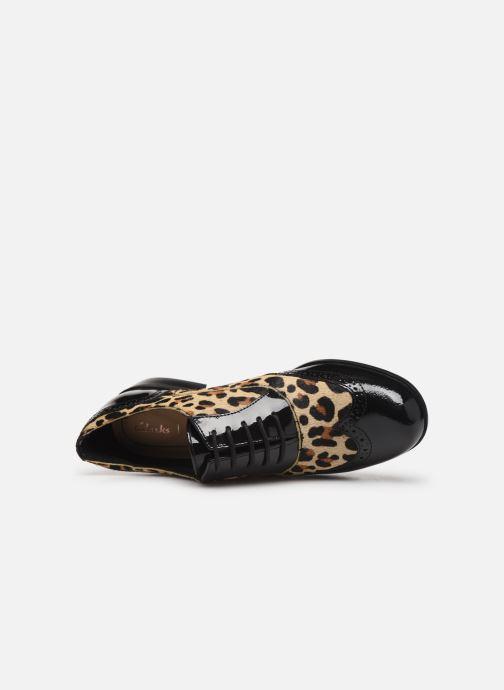 Chaussures à lacets Clarks Hamble Oak Multicolore vue gauche