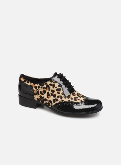 Snøresko Clarks Hamble Oak Multi detaljeret billede af skoene