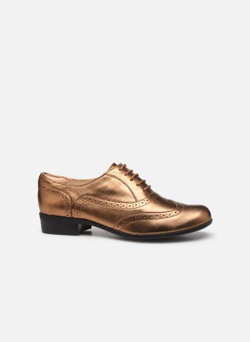 Chaussures à lacets Clarks Hamble Oak Or et bronze vue derrière