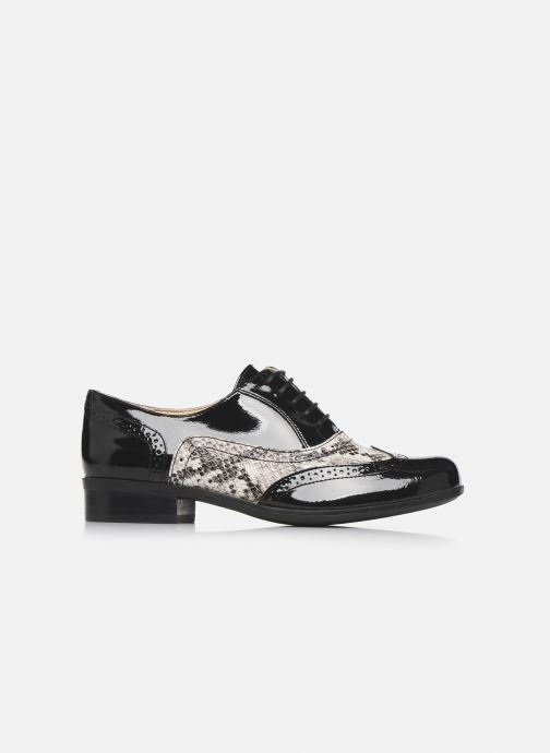 Chaussures à lacets Clarks Hamble Oak Noir vue derrière