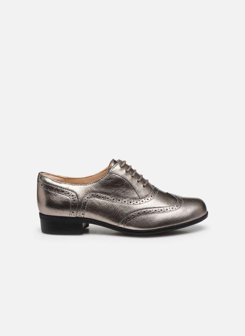 Zapatos con cordones Clarks Hamble Oak Plateado vistra trasera