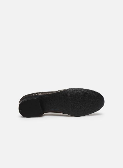 Chaussures à lacets Clarks Hamble Oak Argent vue haut