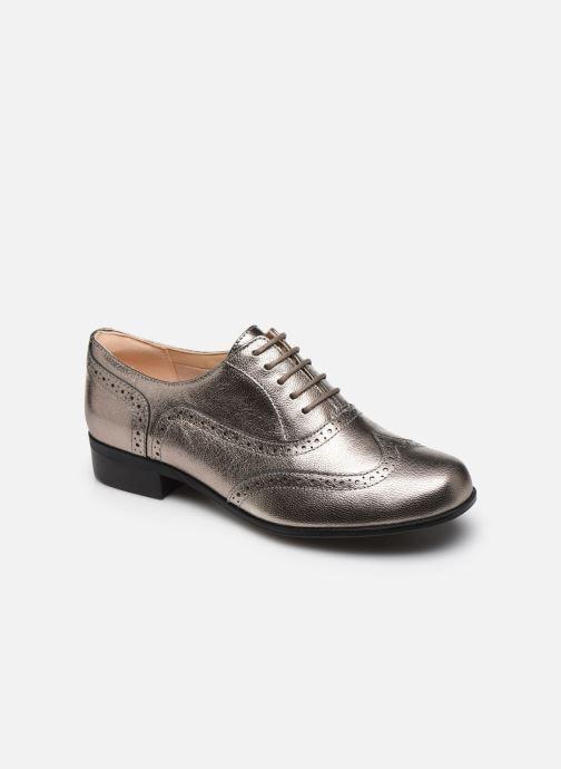 Zapatos con cordones Clarks Hamble Oak Plateado vista de detalle / par
