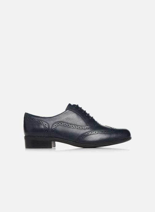 Zapatos con cordones Clarks Hamble Oak Azul vistra trasera