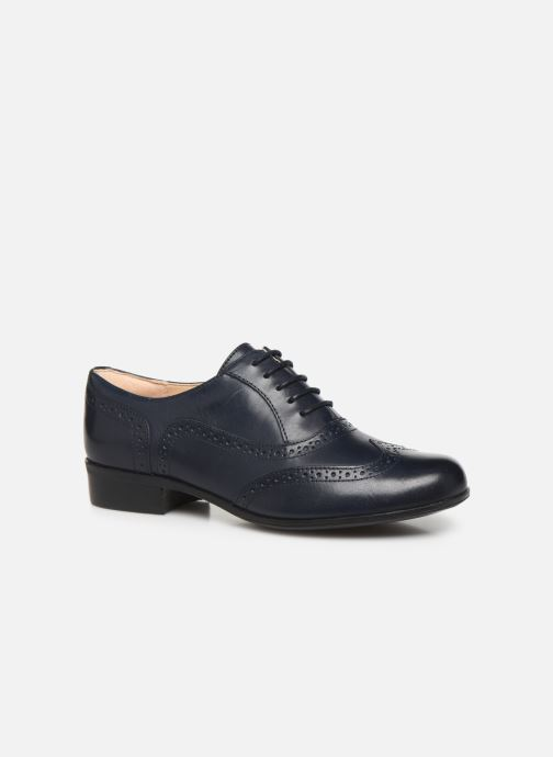 Zapatos con cordones Clarks Hamble Oak Azul vista de detalle / par
