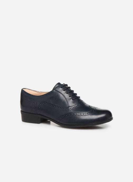 Snøresko Clarks Hamble Oak Blå detaljeret billede af skoene